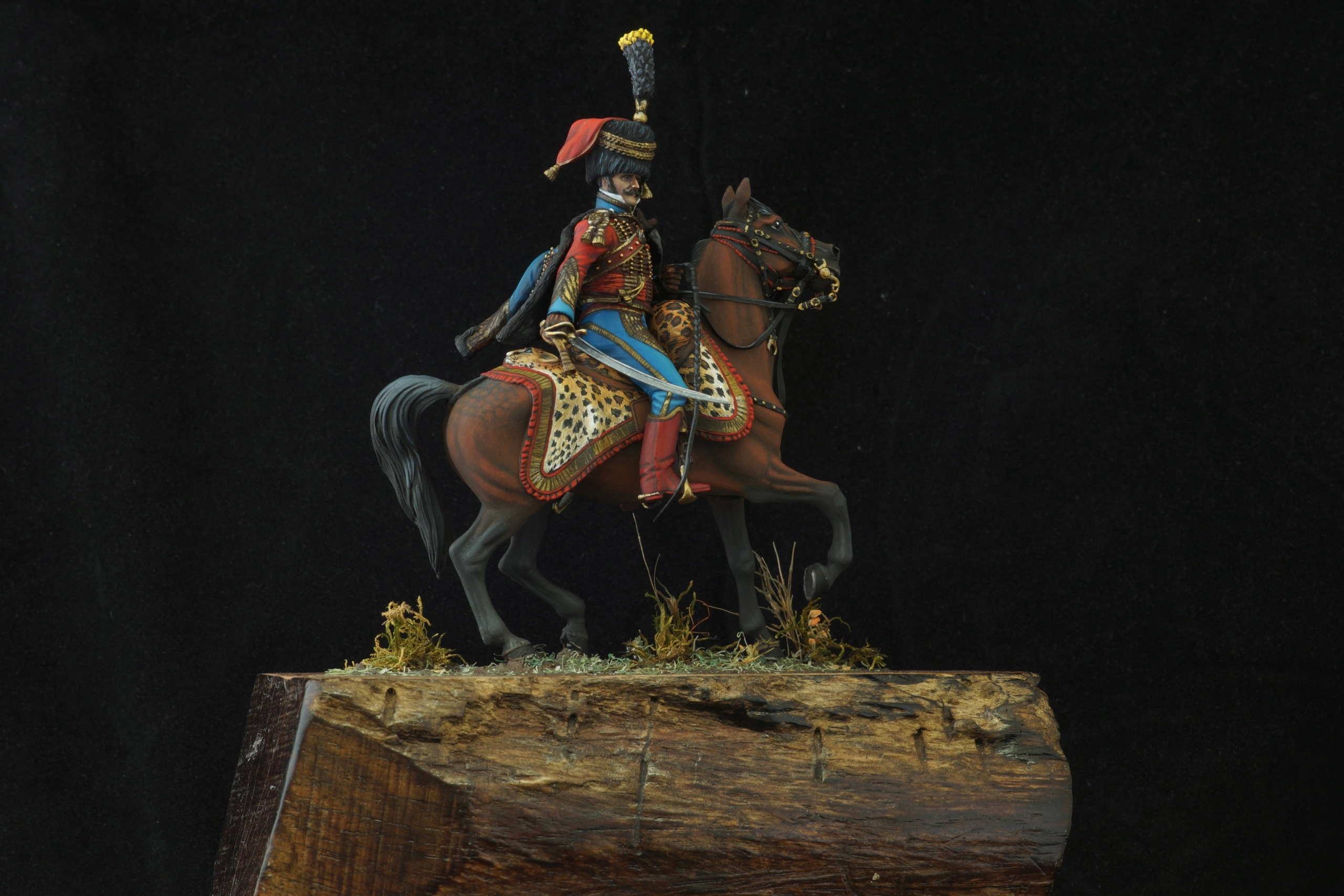 Colonel de hussards 1809, Metal Modeles H_011