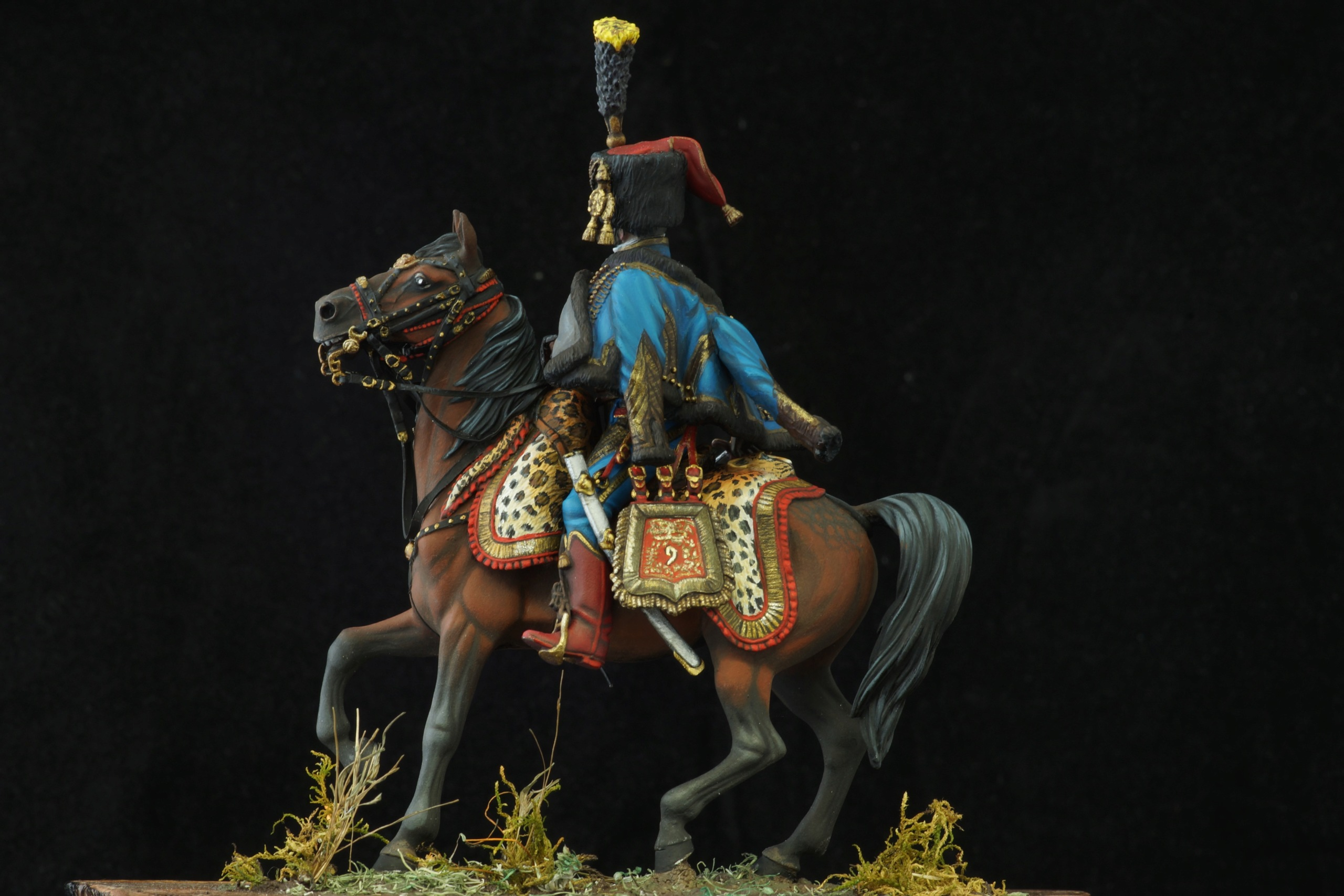 Colonel de hussards 1809, Metal Modeles H_711