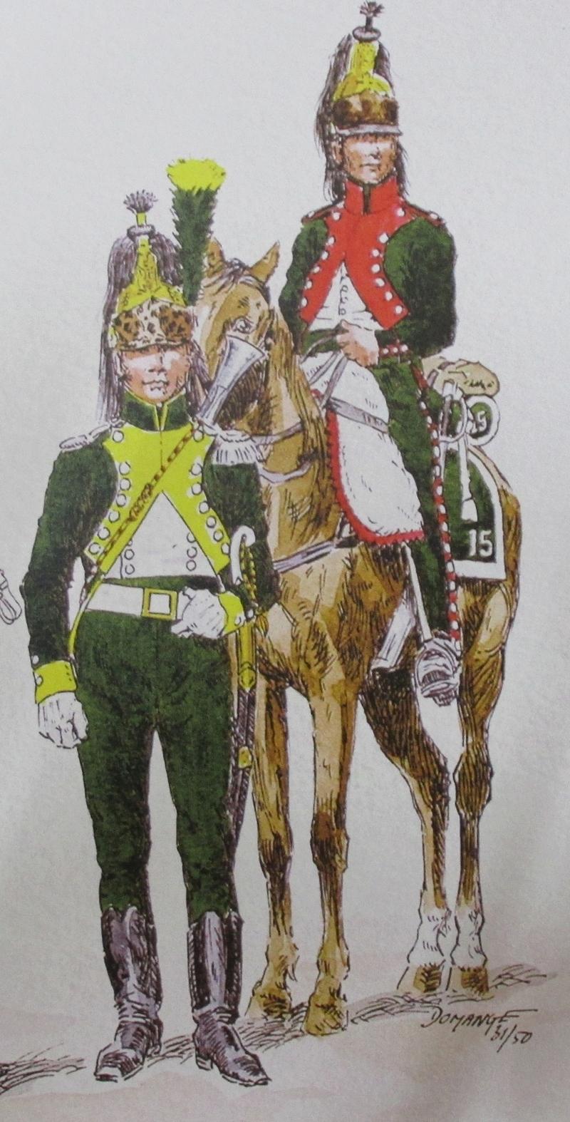 Sous-Lieutenant du 20ème Dragons Égypte 1800 - Michael Roberts - 120 mm Img_0026