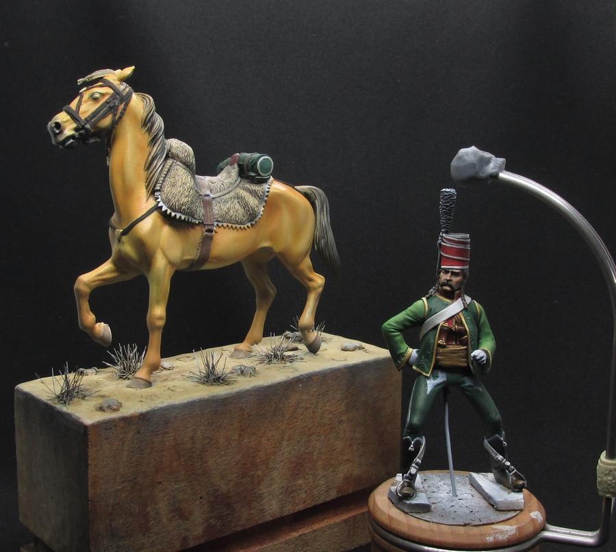 Officier Chasseur en Égypte - Tenue bariolée... Img_2216
