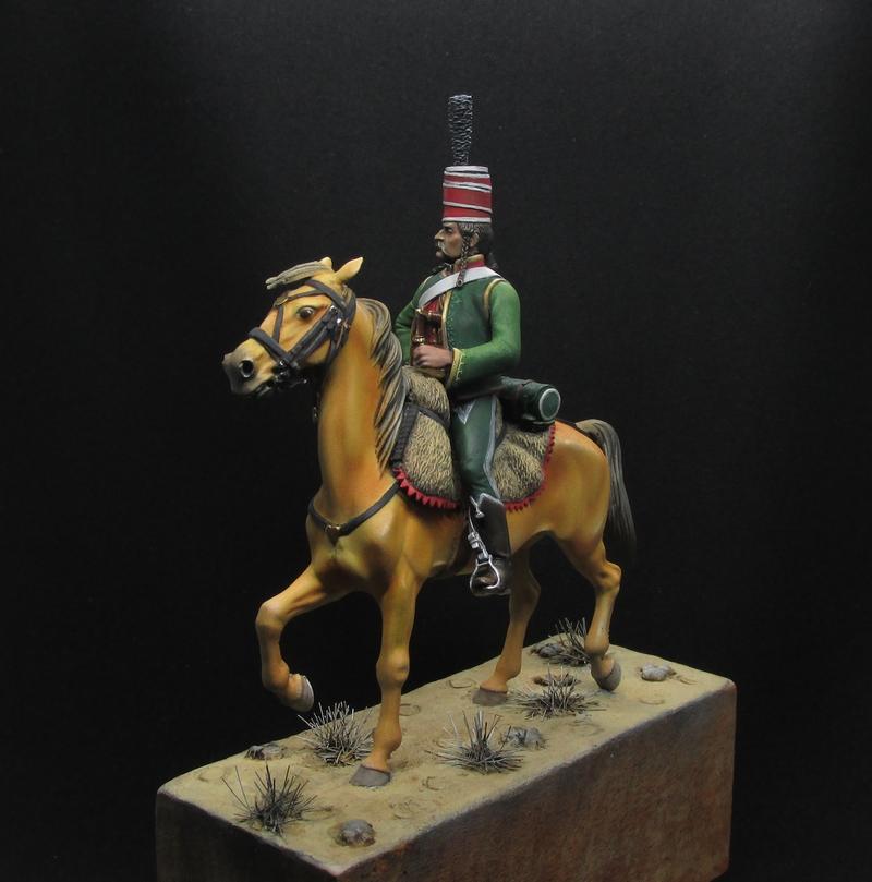 Officier Chasseur en Égypte - Tenue bariolée... Img_2223