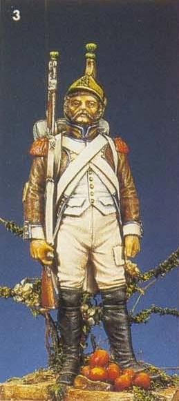 Vitrine Alain 2Régiment Joseph Napoléon .Voltigeur 1809 (Chronos miniatures 54 mm ) - Page 13 Sans_138