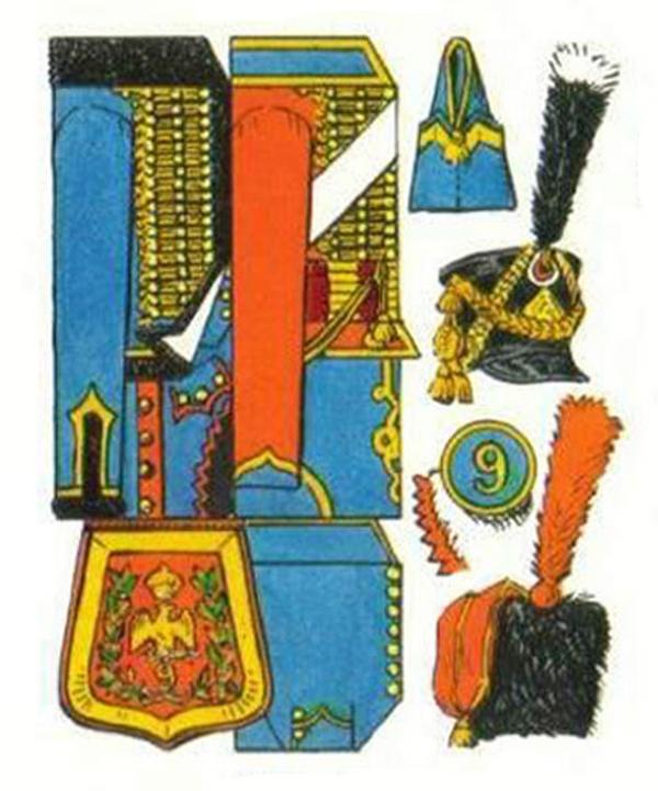 Colonel de hussards 1809, Metal Modeles Sans_t33