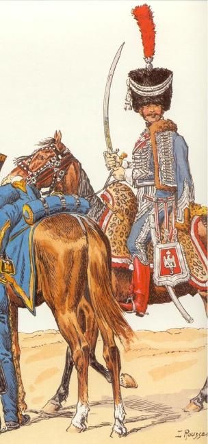 Capitaine des hussards 7ème (Question sur le colback + Photos) Sans_t39