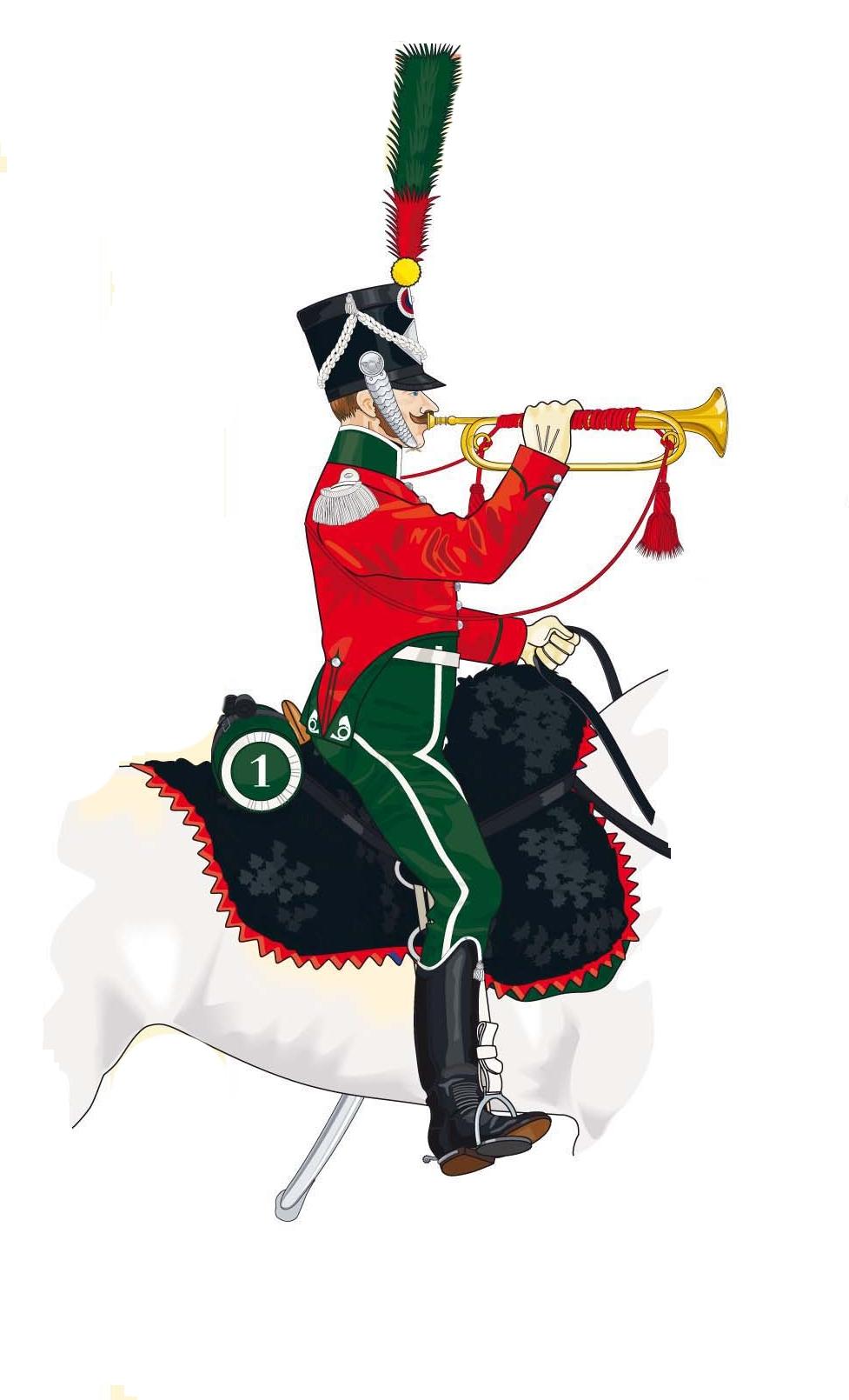 Trompette de Chasseurs à cheval Trompe14