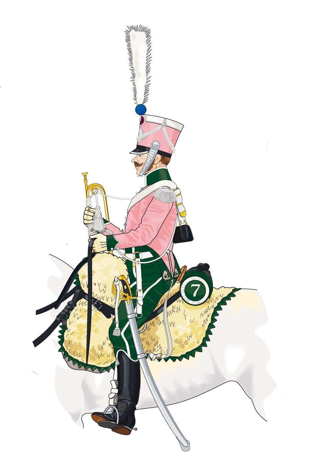 Trompette de Chasseurs à cheval Trompe15