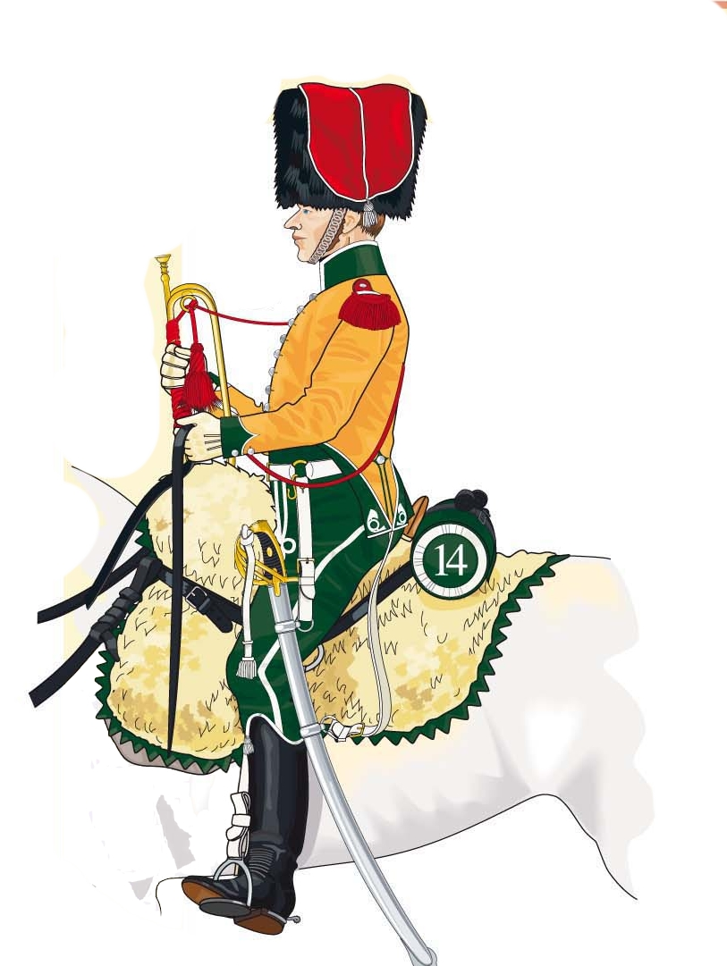 Trompette de Chasseurs à cheval Trompe16