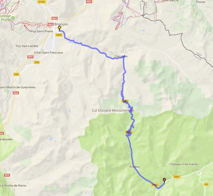 Route des Grandes Alpes - col de l'Izoard Captur12