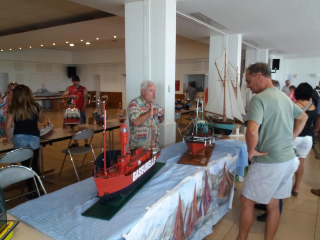 expo maquette de bateau L'Aiguillon sur mer dimanche 28 juillet 20190710