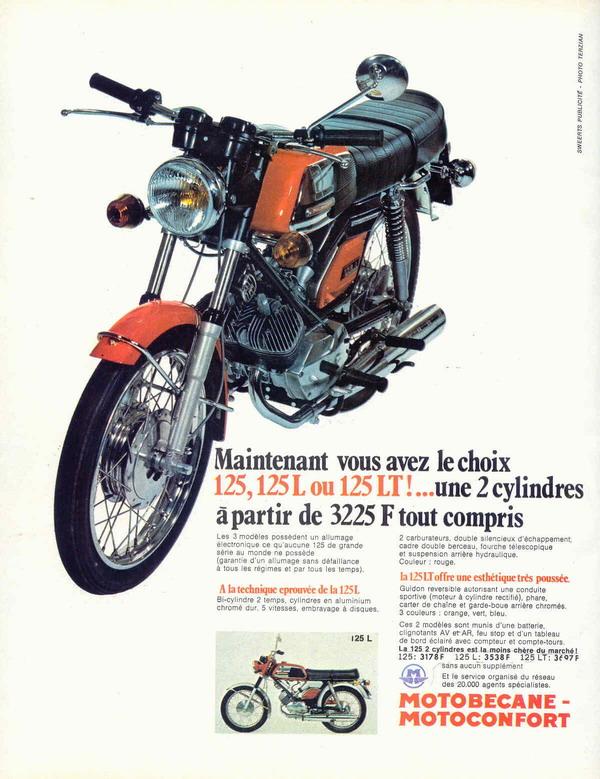 Moto LT1 125 Motobécane Pub_1210