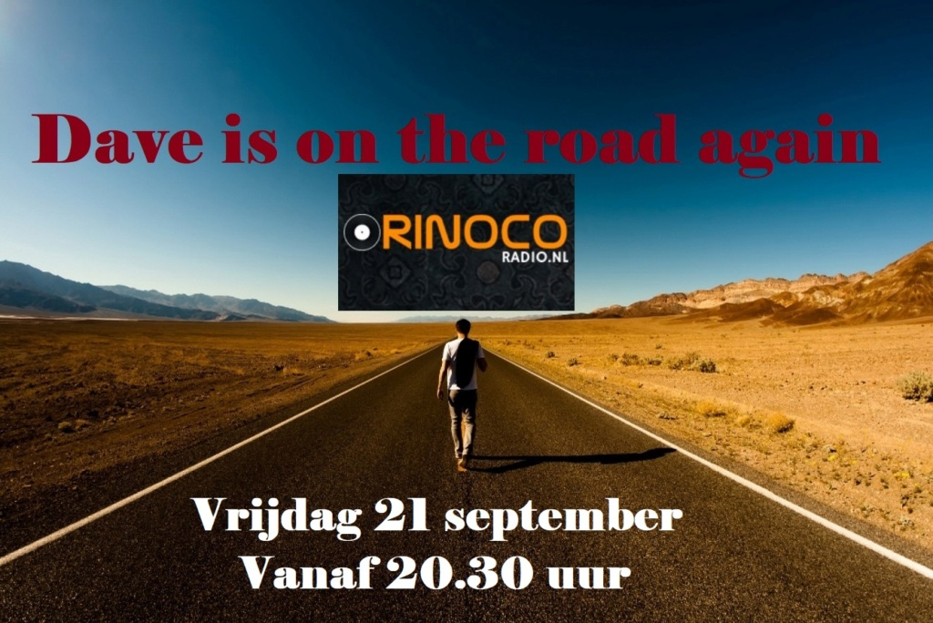 Vrijdag 21 sep. Dave is on the road again On_the10