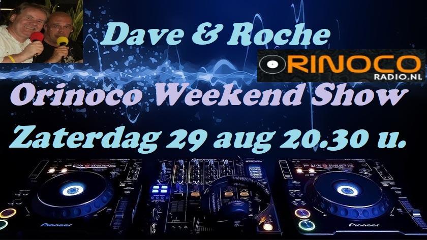 Zat. 29-08: Orinoco weekendshow met........ Orinoc11