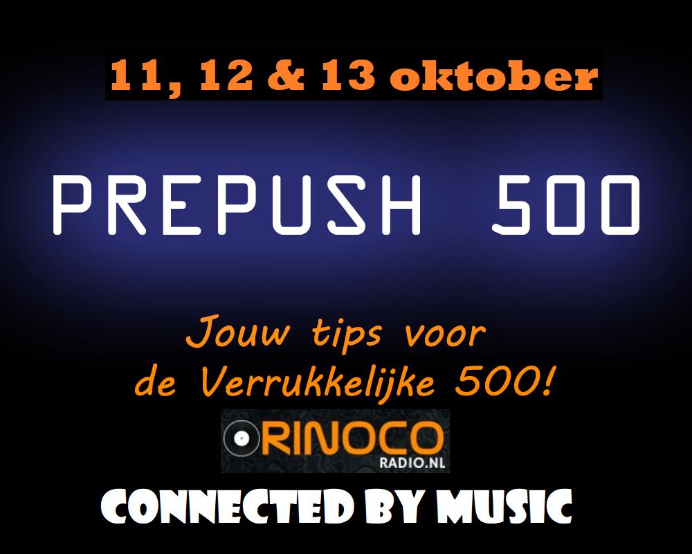 11, 12 & 13 oktober: De PréPush 500 Prepus11