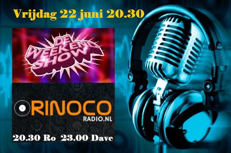Vrijdag 22 juni: De Weekendshow! Ro__da10