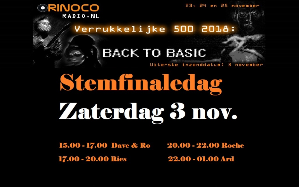 STEMFINALEDAG 3 november 2018 Stemfi10