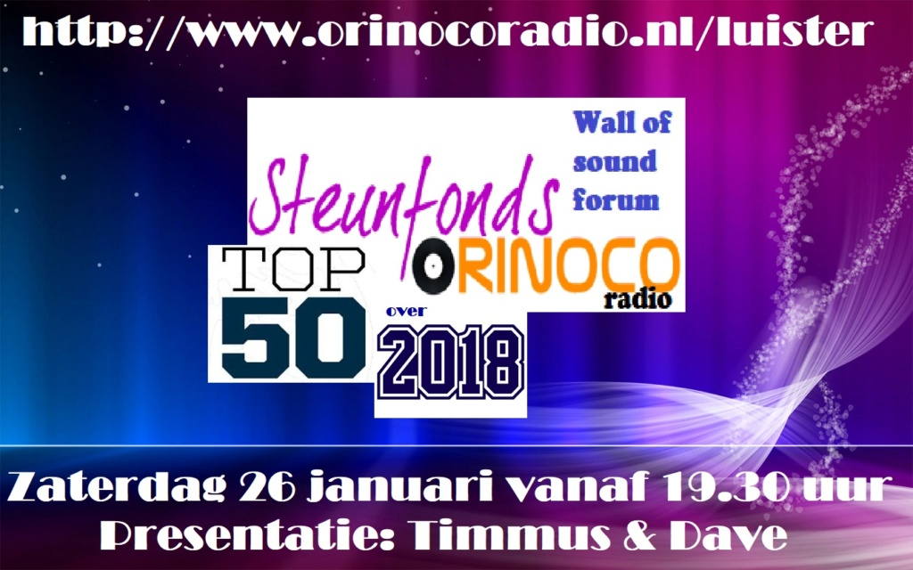 Steunfonds Top 50 over 2018 (zat. 26-01-2019) Steunf10