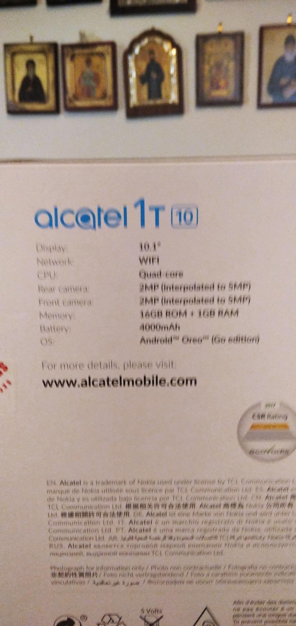 Tablet Alcatel 1T 16G Img_2030