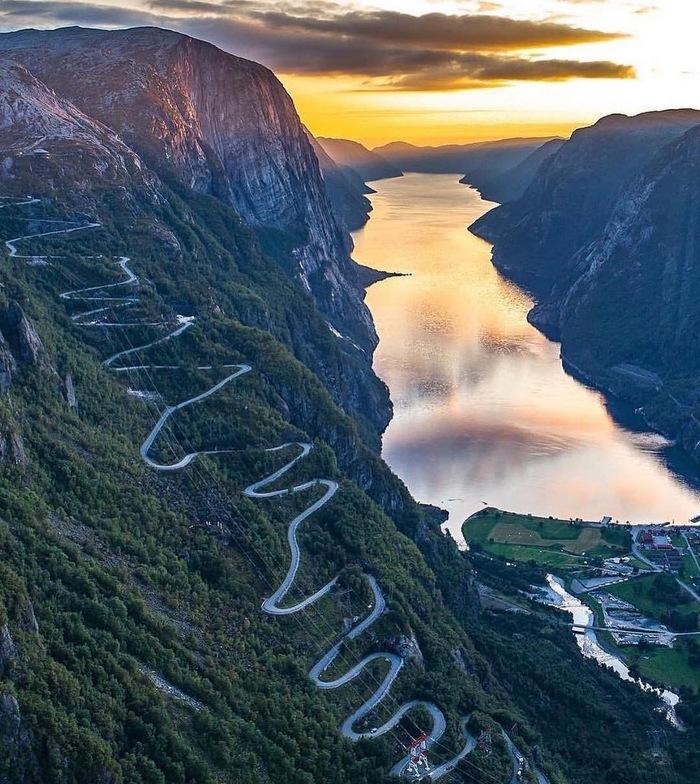 Роскошные пейзажи Норвегии - Страница 3 15505710