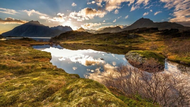Роскошные пейзажи Норвегии - Страница 8 15558310