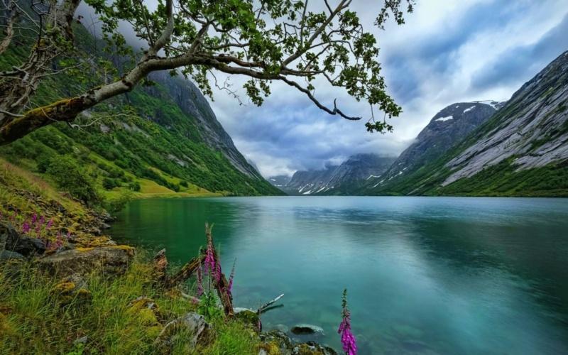 Роскошные пейзажи Норвегии - Страница 8 15558311