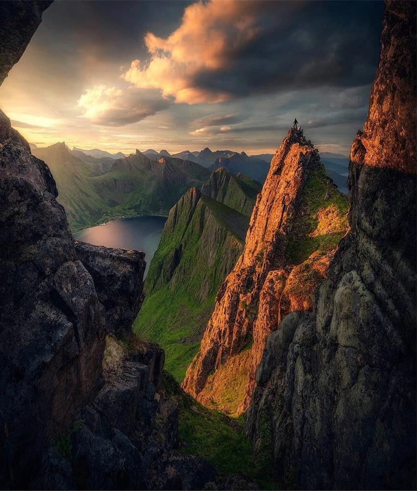 Роскошные пейзажи Норвегии - Страница 25 15901710