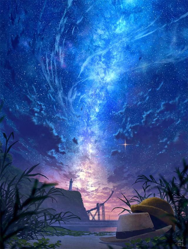 Звёздное небо и космос в картинках - Страница 21 15926810