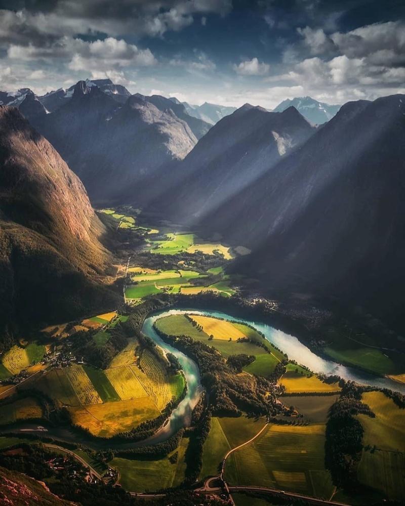 Роскошные пейзажи Норвегии - Страница 17 1k0nek10