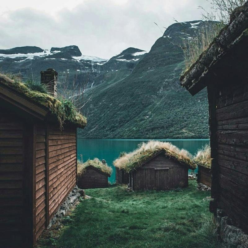 Роскошные пейзажи Норвегии - Страница 10 1lnpq510