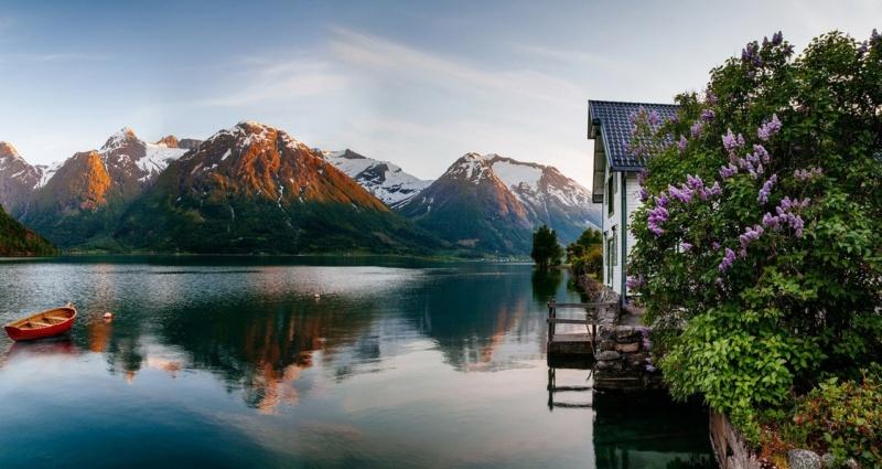 Роскошные пейзажи Норвегии - Страница 17 3diqyk10
