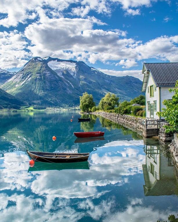Роскошные пейзажи Норвегии - Страница 22 5bn-oy10