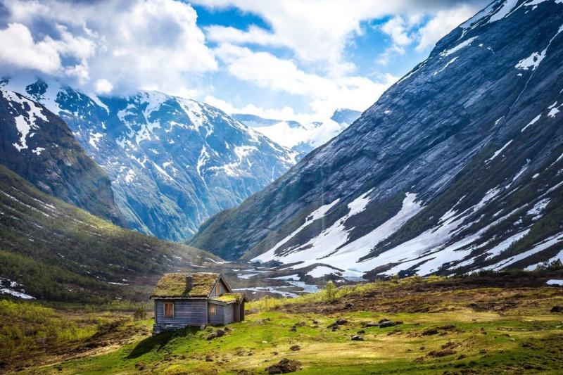 Роскошные пейзажи Норвегии 7rnwfk10
