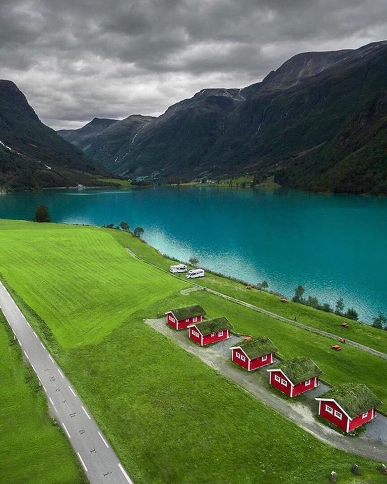 Роскошные пейзажи Норвегии - Страница 6 9-ooly10