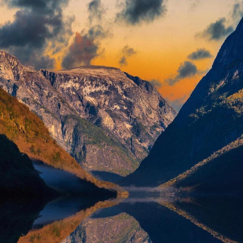 Роскошные пейзажи Норвегии - Страница 15 Disnan10