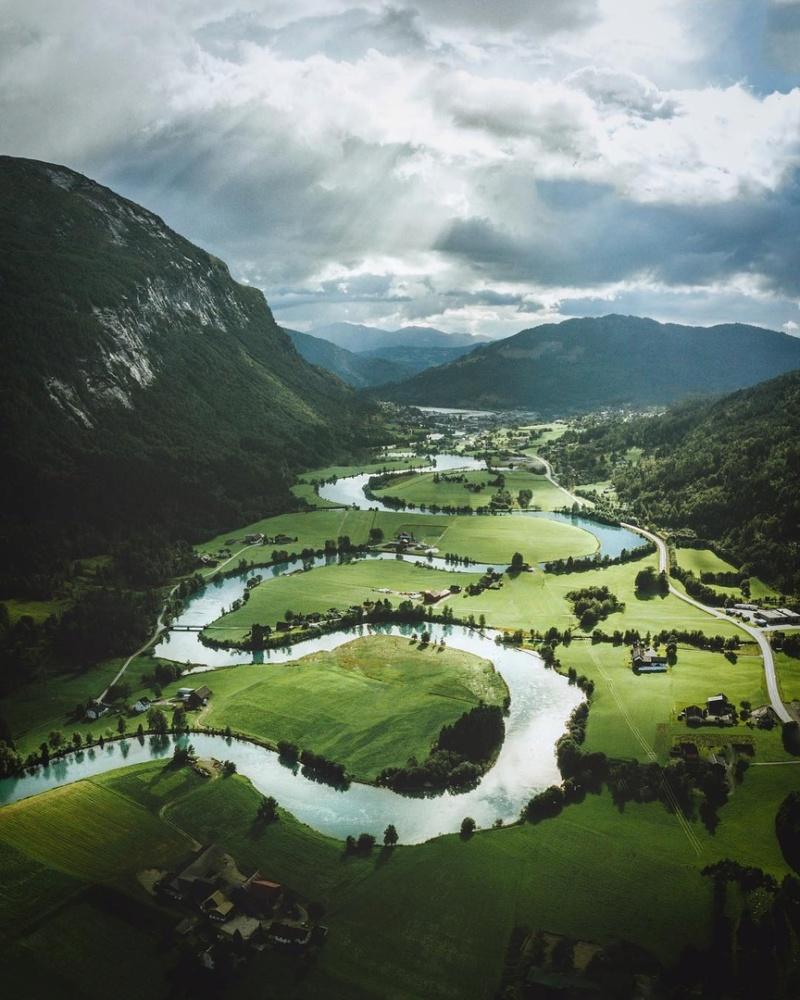 Роскошные пейзажи Норвегии - Страница 2 Erq2v210
