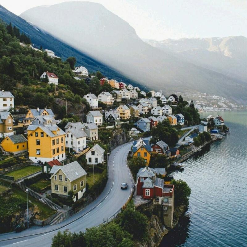 Роскошные пейзажи Норвегии - Страница 16 Evzax310