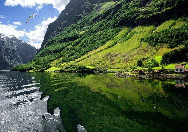 Роскошные пейзажи Норвегии Fks1wq10