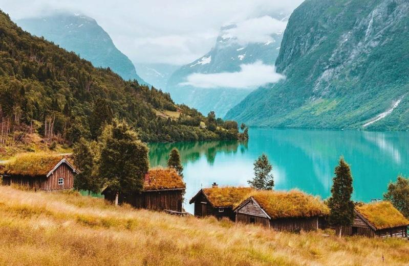 Роскошные пейзажи Норвегии - Страница 20 Gcamhj10