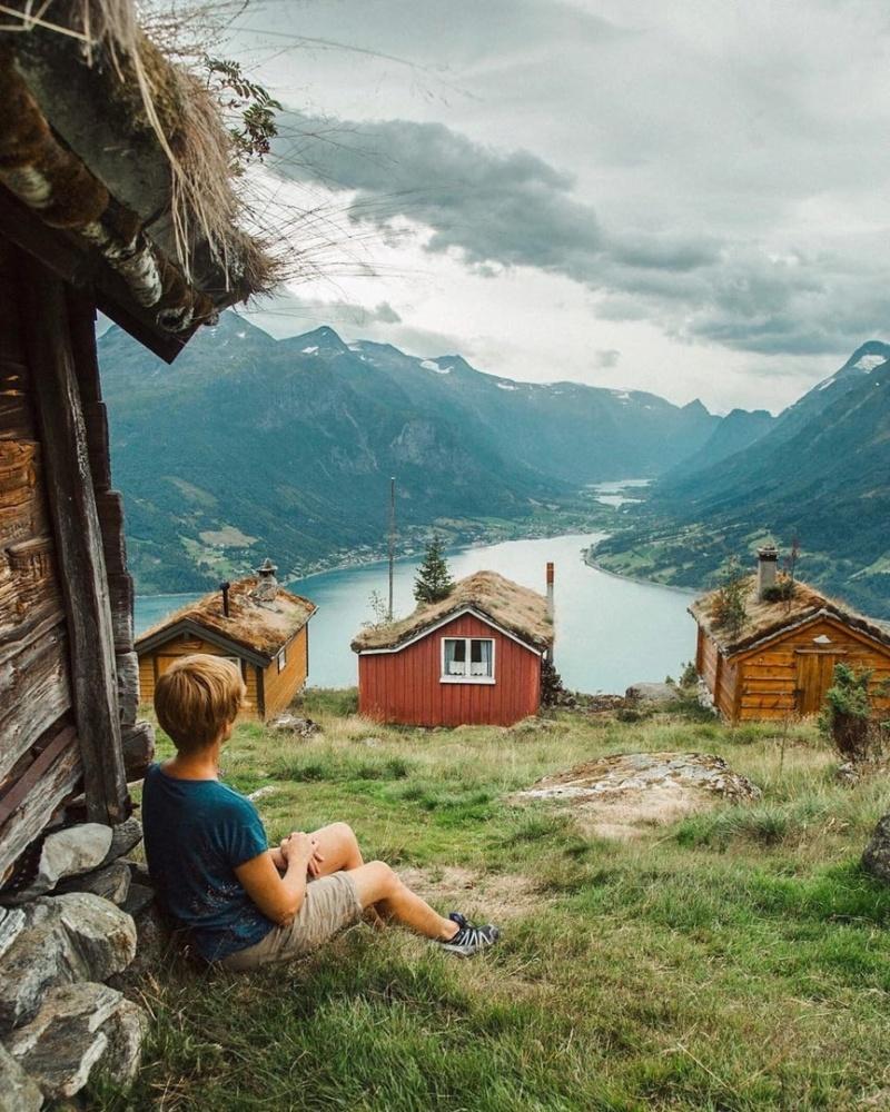 Роскошные пейзажи Норвегии - Страница 21 Gzbnul10