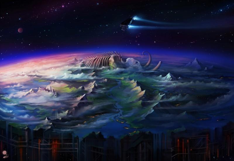 Звёздное небо и космос в картинках - Страница 3 Hncfg710