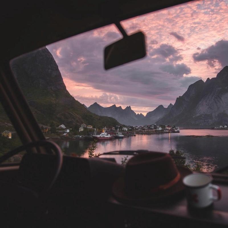 Роскошные пейзажи Норвегии - Страница 4 Ke3ufc10
