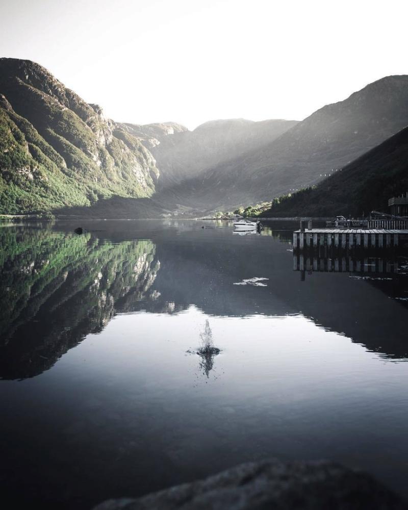 Роскошные пейзажи Норвегии Lofp-010