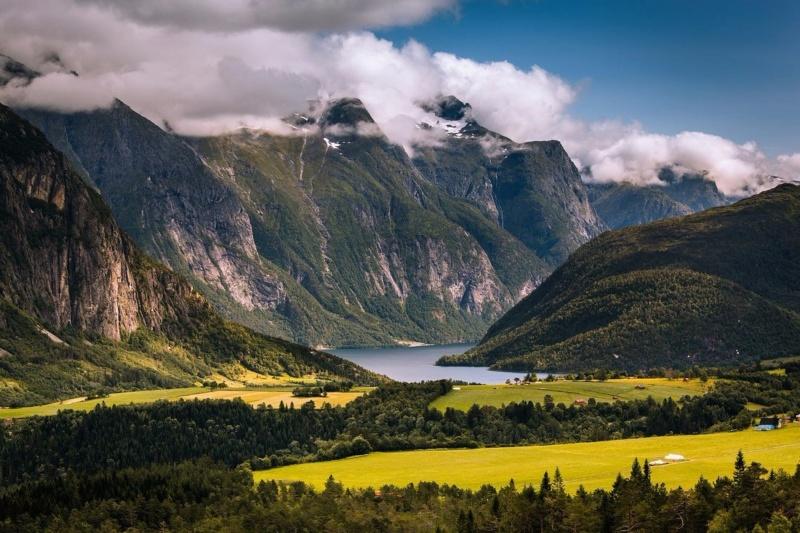 Роскошные пейзажи Норвегии - Страница 17 P1ce7t10