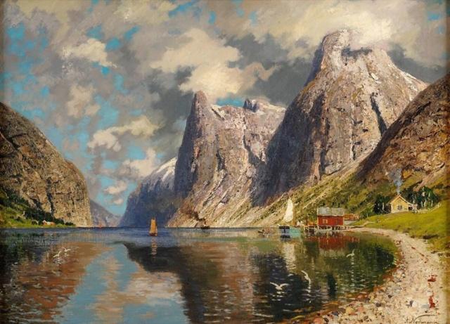 Роскошные пейзажи Норвегии - Страница 25 Q9lokm10