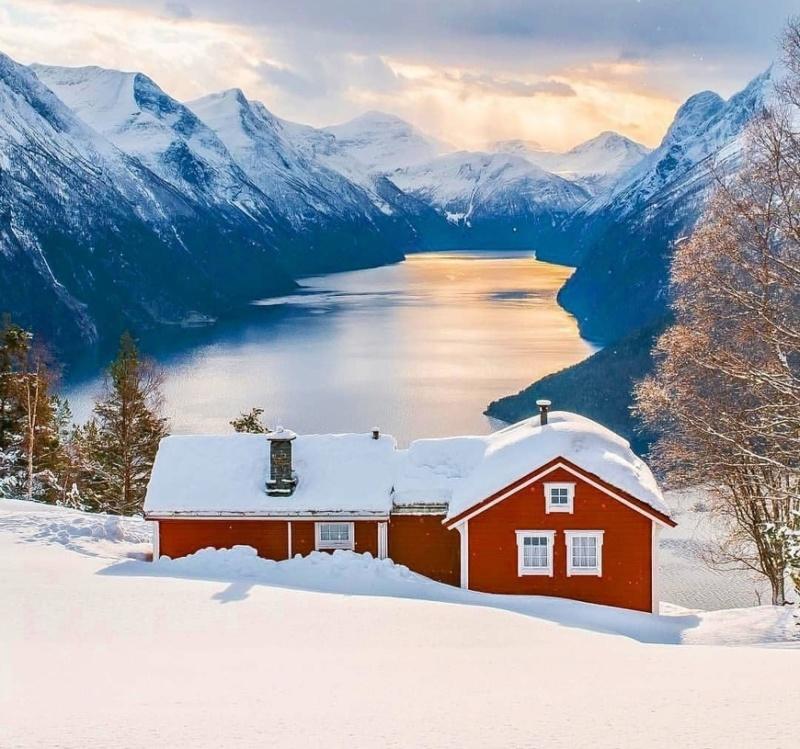 Роскошные пейзажи Норвегии - Страница 38 Tociyx10