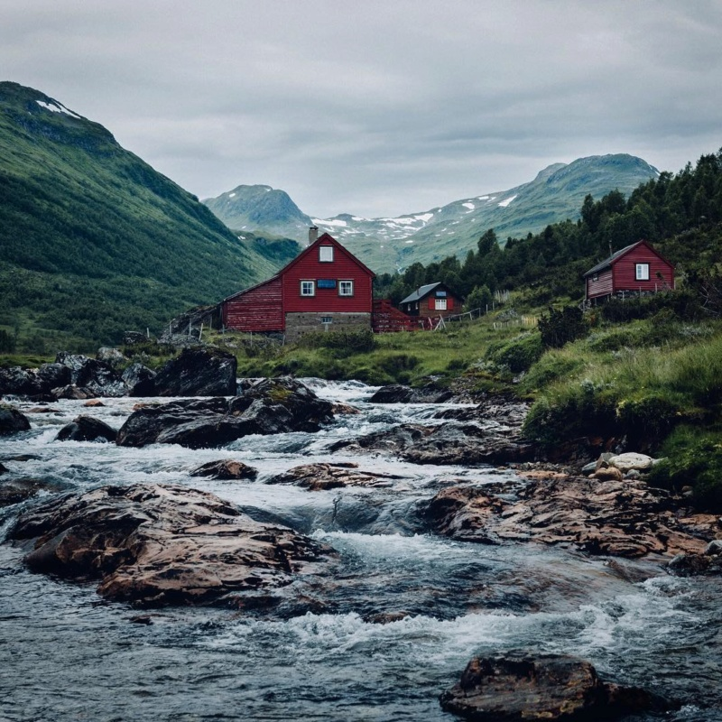Роскошные пейзажи Норвегии Umaqju10