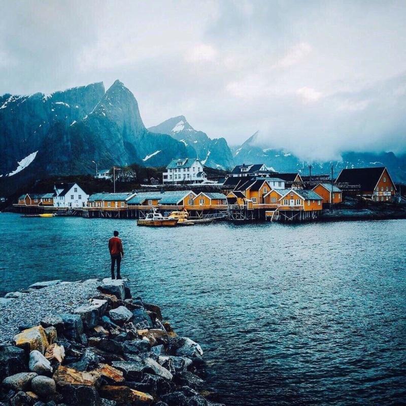 Роскошные пейзажи Норвегии - Страница 15 Upi5ka10