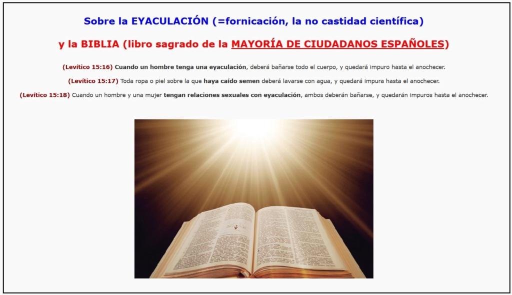 • Castidad Científica (lo que no nos han contado)... Biblia15