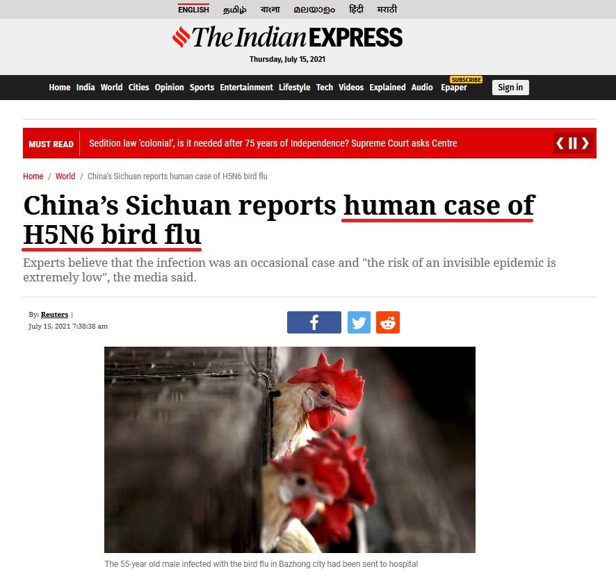 • China detecta el primer contagio de gripe aviar en humanos... Coron420