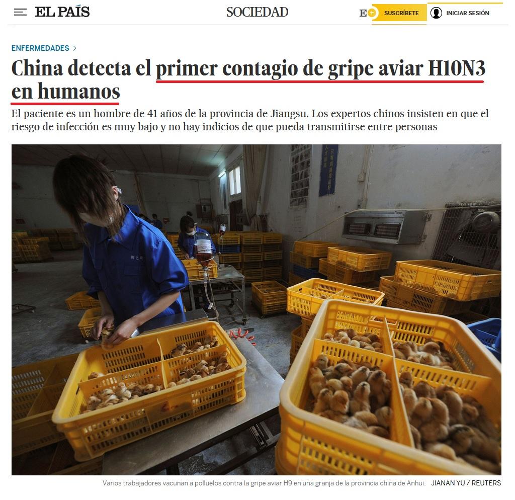• China detecta el primer contagio de gripe aviar en humanos... Coron421