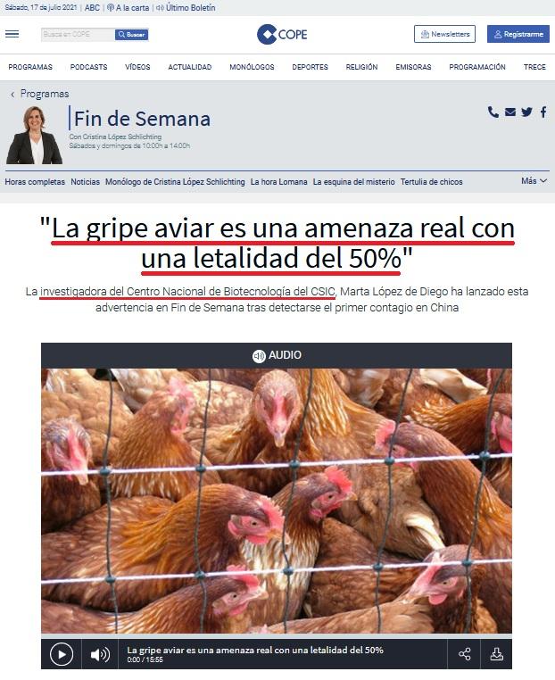 • China detecta el primer contagio de gripe aviar en humanos... Coron425